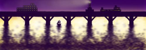 YahKan Bridge - Evening by komera