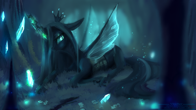 queen chrysalis by Vincher