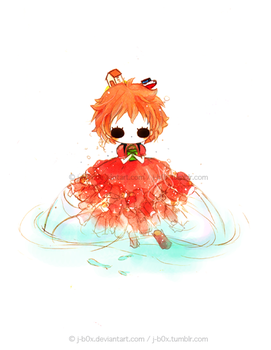 Ponyo in the Sea by j-b0x