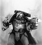Paintchat Space Marine by r7ll