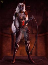 Drow Queen by Dungeon-Spirit