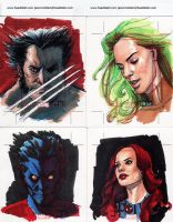 Marvel 70th Sketch Cards 3 by Manji675