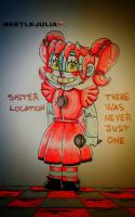 Sister location Baby  by Beetlejulia