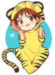 KnB: Kagami The Tiger by milaa-chan