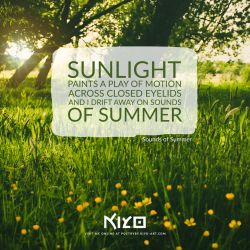 Sounds of Summer by Kiyo-Poetry