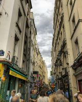 Walking down Rue de la Huchette by sequential