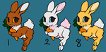 CLOSED: Rabbit Adopts Batch 3 by AshWolf-Forever