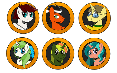 Brony Badge set 21 by DBurch01