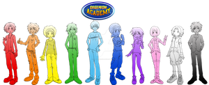 Digimon Academy: Main Cast Collage by SulfuricAcid