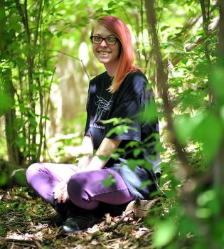 In the woods by photozz