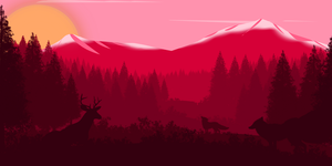 -- Red moutain -- by 0l-Fox-l0