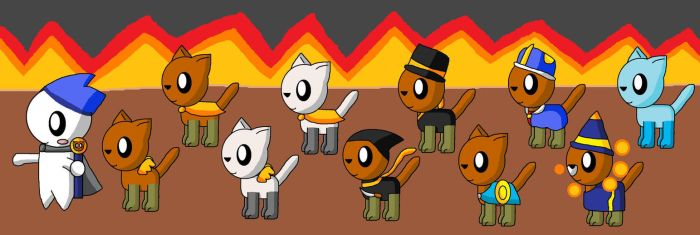 The Kitty Army Of The Angel Onion by pokemonlpsfan