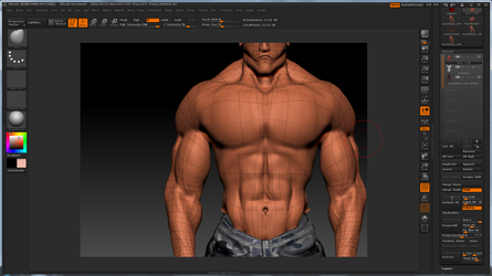 Male Character - closer detail by x-icarus