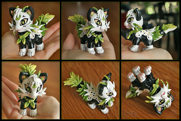 Mewshi Sculpt by Kawiku