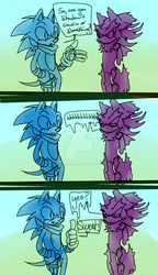 ItzDarkky | Sonic and Mephiles Prompt by that-rae-of-sunshine