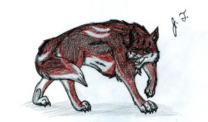 Domain of the Wolf - Hellion (Dante) by joshbluemacaw