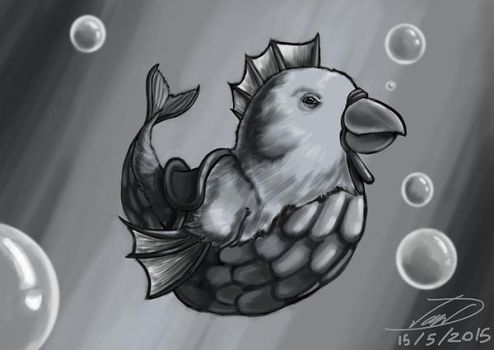 Weekly Challenge - Bird Fish by laughinguy