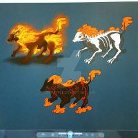 Hell hound concept designs by cpxapple