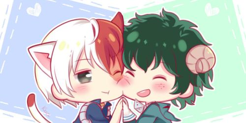[MHA] Icon couple TodoDeku by KuaTakeru