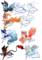 YCH Multiple Species -- Open by KitaSpecies