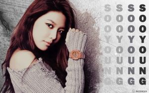 Sooyoung Real Baby G Wallpaper by Rizzie23