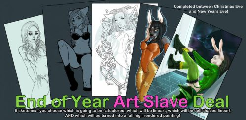 Art Slave Offer by Ravica