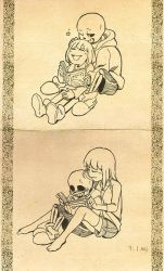Reading time by Triangle-cat