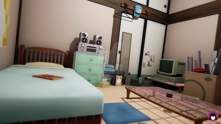 DRAMAtical Murder: Aoba's Room by Hero-of-Awesome