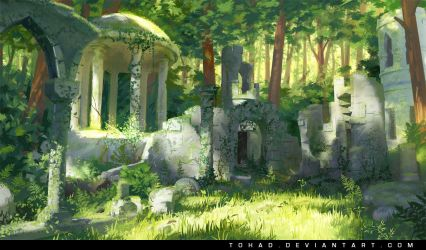 Ruins by Tohad