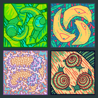 Colourful Gastropods by Kampfkewob