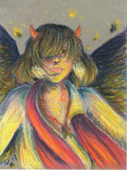 Lucifer with pastel colors by SamiLuu