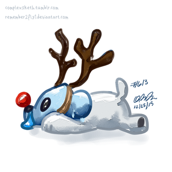 Cubchoo Playing Pretend by Remember2fly1