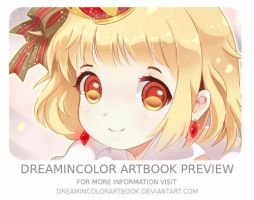 DreamInColor Charity Artbook Preview by BrandyRosa