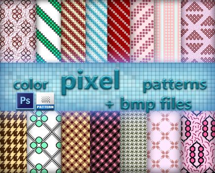 Color Pixel Patterns by roula33