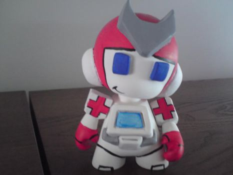 Ratchet Mini Munny 1 by TracerBullet79