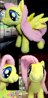 Nug's Fluttershy plush by Cryptic-Enigma