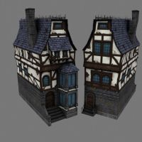 SLightly run down building by Conglaci
