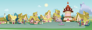Pony Time Passages - Video Background by CorpulentBrony