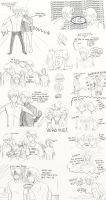 Hetalia: FACE Family Adventures Doodle Page by ExclusivelyHetalia