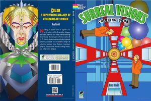 Surreal Visions Coloring Book by Hop41