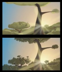 background before and after by decemberdreamry