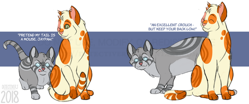 Warrior Cats AU: Jayheart by DetectiveRJ