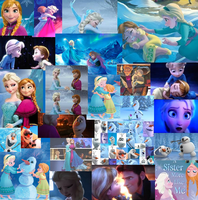 Anna and Elsa Love Will Thaw by QuilavaGirl21
