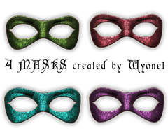 Masks Stock by Wyonet