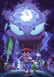 Earthbound Threed by silverflamng