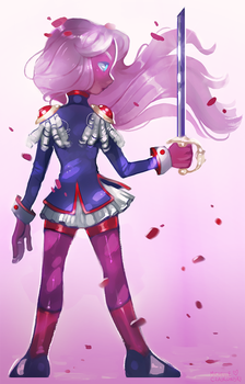 Revolutionary Girl by tinypaint