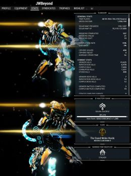 Warframe Journey pt 1. 100 hours by JWBeyond