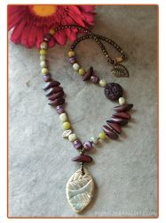 Purple Forest Necklace by Nyrak