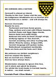 Poem of Cornwall 08a -We Cornish Are A Nation by CliveBlake