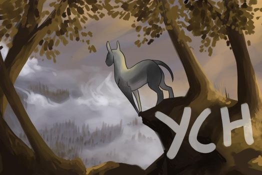 [OPEN YCH-any feral character] Morning Mist by Behlair